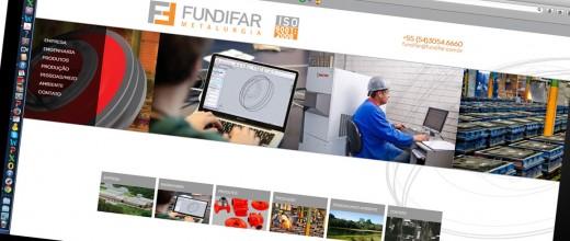 Novo site Fundifar